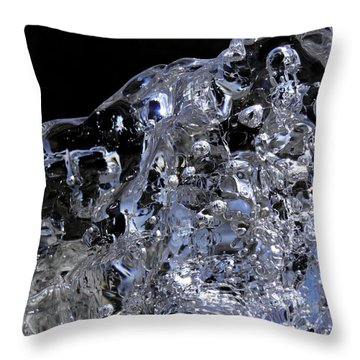 Throw Pillow featuring the photograph Abstract Bear by Sami Tiainen