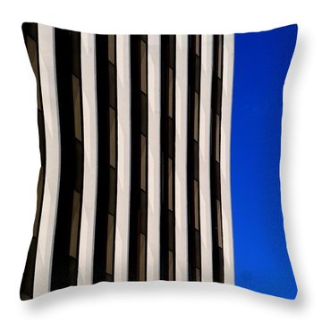 Abstract Building 2011 Throw Pillow