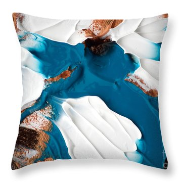 Abstract C010816 Throw Pillow
