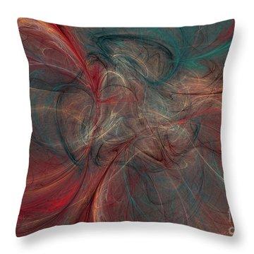 Abstract Chaotica 10 Throw Pillow
