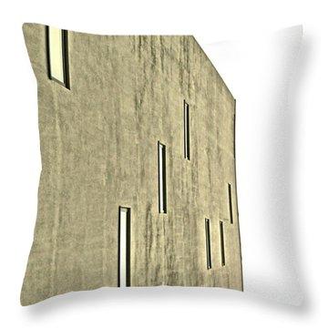Abstract Concrete Throw Pillow