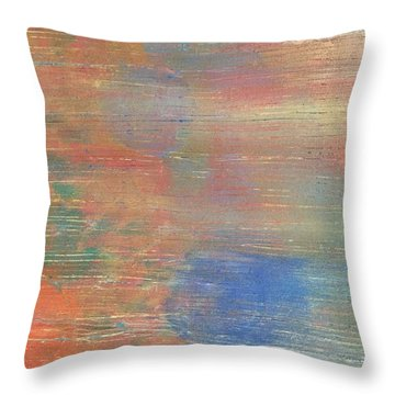 Abstract Confetti 3 Throw Pillow