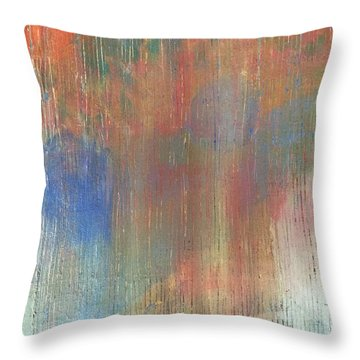 Abstract Confetti 4 Throw Pillow