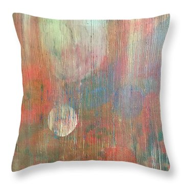 Abstract Confetti Throw Pillow