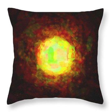 abstract contemporary colors No 23 Throw Pillow