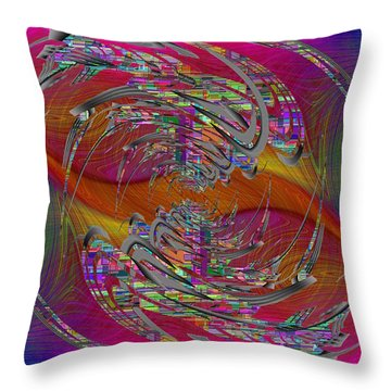 Abstract Cubed 320 Throw Pillow