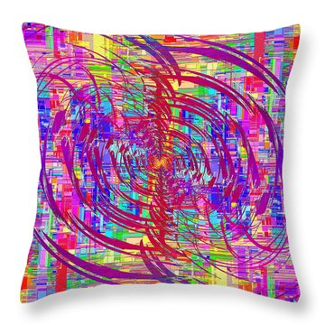 Abstract Cubed 325 Throw Pillow
