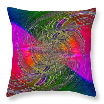 Abstract Cubed 326 Throw Pillow