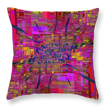 Abstract Cubed 330 Throw Pillow