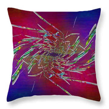 Abstract Cubed 331 Throw Pillow