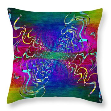 Abstract Cubed 336 Throw Pillow