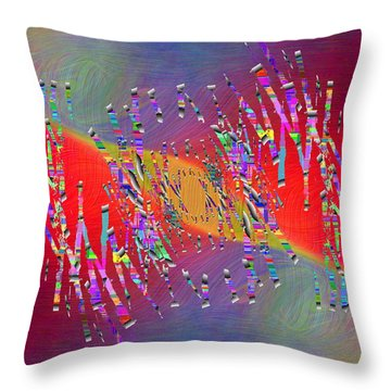 Abstract Cubed 337 Throw Pillow
