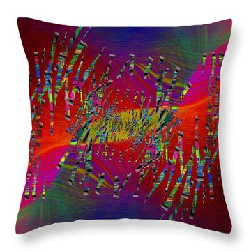 Abstract Cubed 338 Throw Pillow