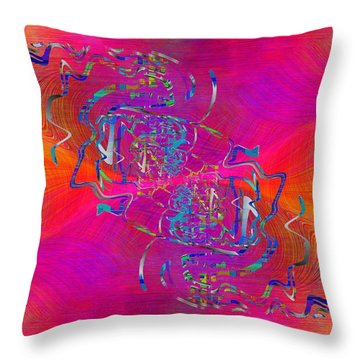 Abstract Cubed 342 Throw Pillow