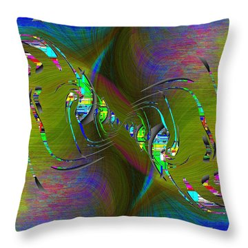 Abstract Cubed 361 Throw Pillow