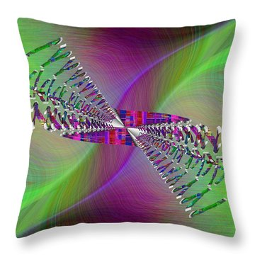 Abstract Cubed 370 Throw Pillow