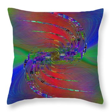 Abstract Cubed 384 Throw Pillow