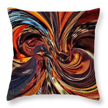 Abstract Delight Throw Pillow