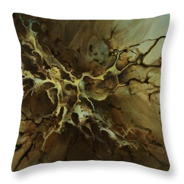 Abstract Design 107 Throw Pillow by Michael Lang