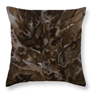 Abstract Design 57 Throw Pillow by Michael Lang