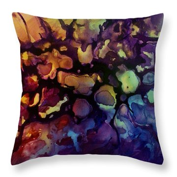 Abstract Design 83 Throw Pillow by Michael Lang