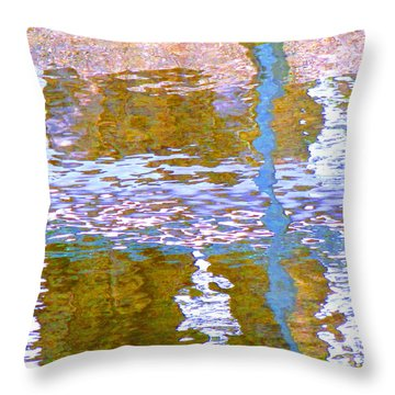 Abstract Directions Throw Pillow