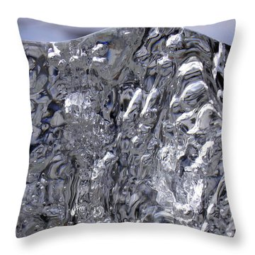 Abstract Dog 2 Throw Pillow by Sami Tiainen