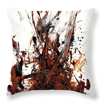 Abstract Expressionism Painting 50.072110 Throw Pillow