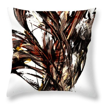 Abstract Expressionism Series 58.121210 Throw Pillow
