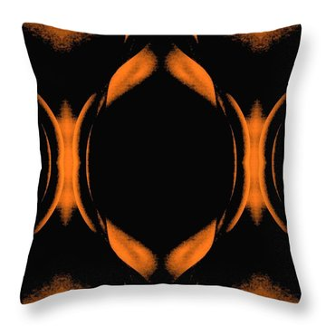 Abstract Female Nude Throw Pillow