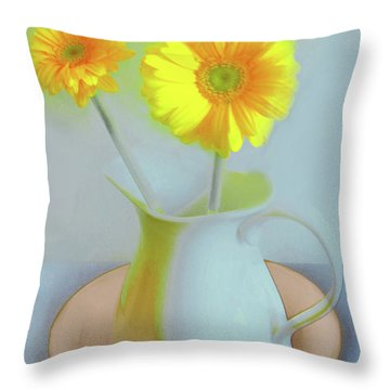 Abstract Floral Art 303 Throw Pillow