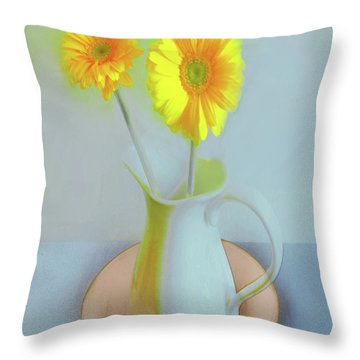 Abstract Floral Art 304 Throw Pillow