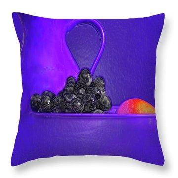 Abstract Fruit Art 53 Throw Pillow