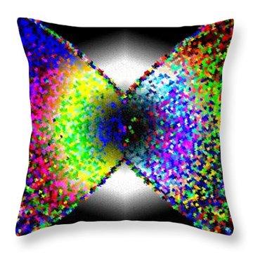 Abstract Fusion 264 Throw Pillow