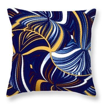 Abstract Fusion 279 Throw Pillow