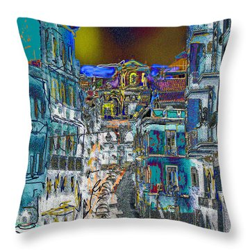 Abstract  Images Of Urban Landscape Series #11 Throw Pillow