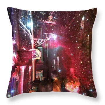 Abstract  Images Of Urban Landscape Series #12 Throw Pillow