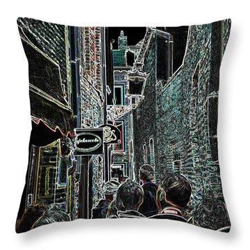 Abstract  Images Of Urban Landscape Series #12b Throw Pillow