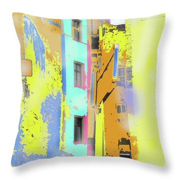 Abstract  Images Of Urban Landscape Series #2 Throw Pillow