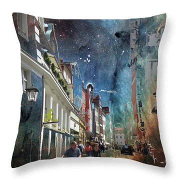 Abstract  Images Of Urban Landscape Series #6 Throw Pillow