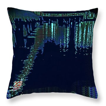 Abstract  Images Of Urban Landscape Series #7 Throw Pillow