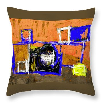 Abstract July 27 2015 Throw Pillow
