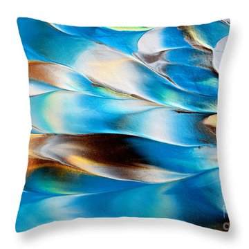 Abstract L1015al Throw Pillow