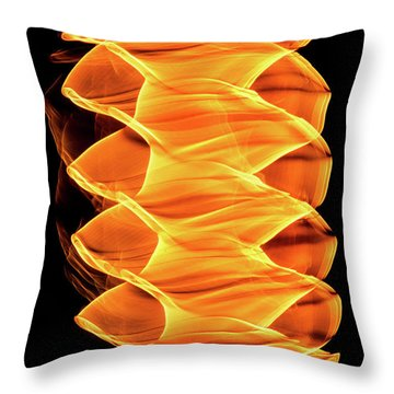 Abstract Light Number 2 Throw Pillow