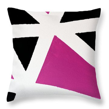 Abstract M1015bp Throw Pillow