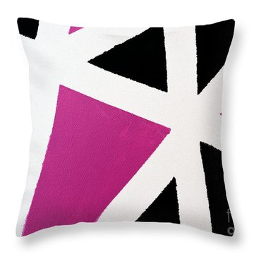 Abstract M1015l Throw Pillow