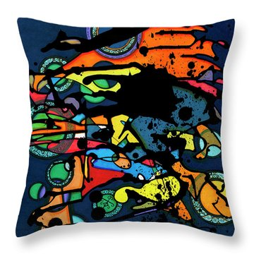 Abstract Man  Throw Pillow