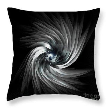 Abstract Metal 1 Throw Pillow