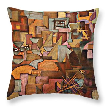 Abstract Mind Throw Pillow