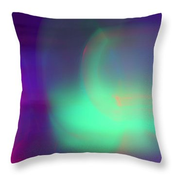 Abstract No. 1 Throw Pillow